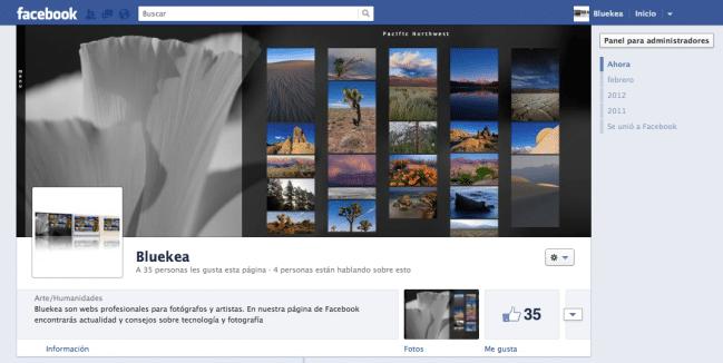 Bluekea en Facebook