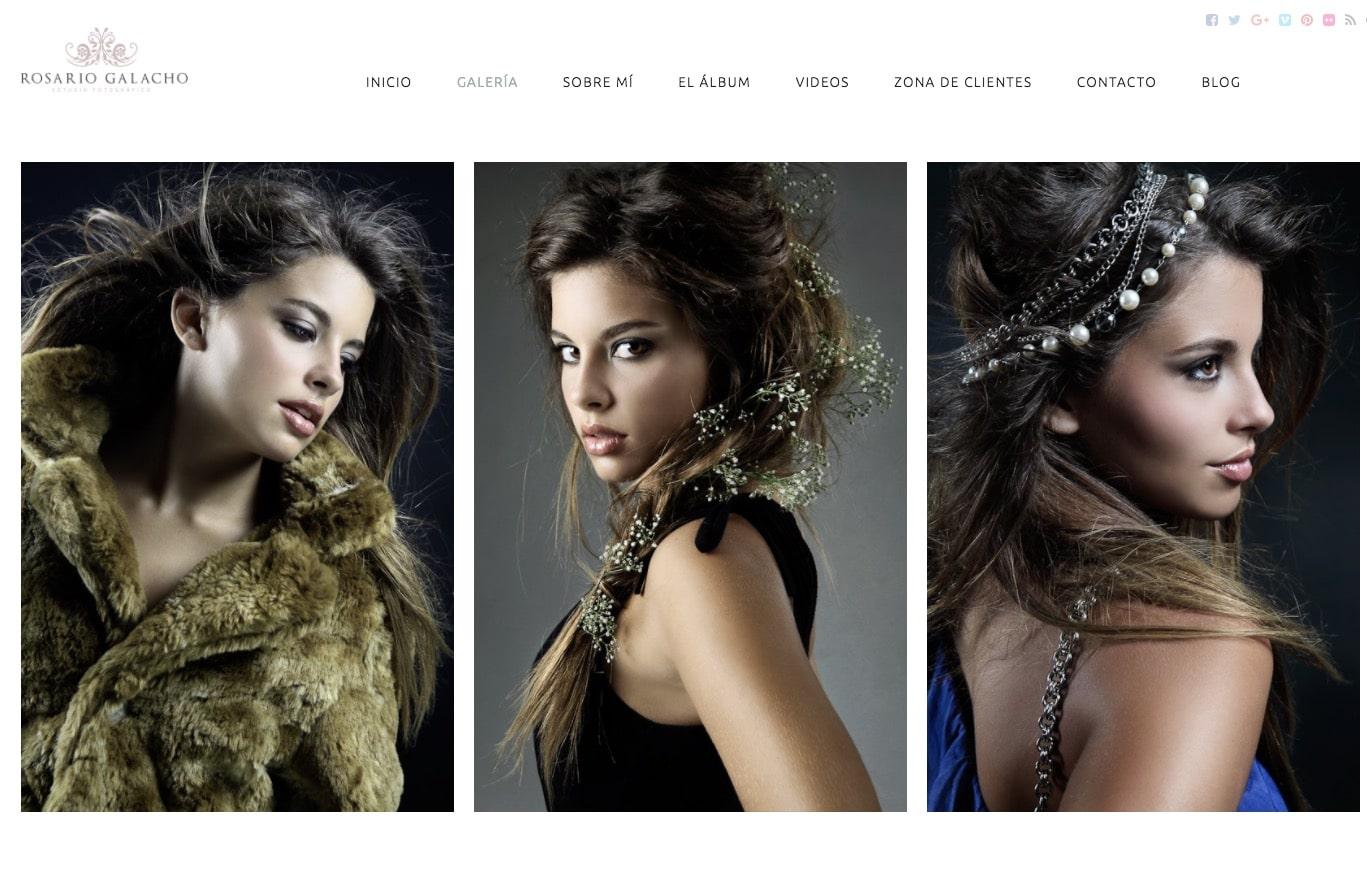 La web de Rosario Galacho en Bluekea