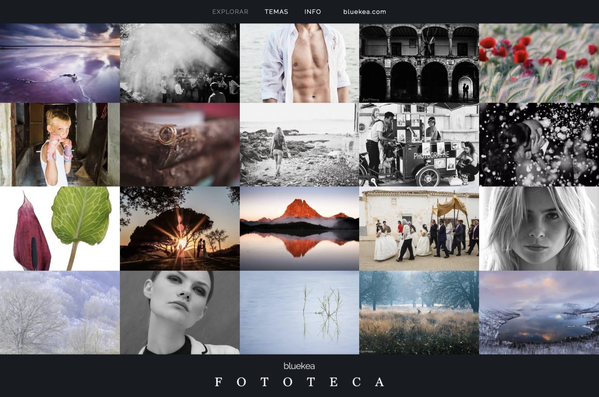 Lanzamos la fototeca de Bluekea, una selección del trabajo de nuestros fotógrafos